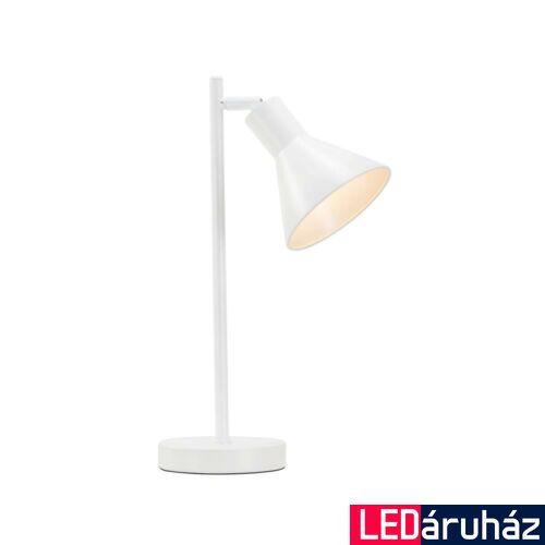 NORDLUX Eik asztali lámpa, fehér, E27, max 15W, 15cm átmérő, 46695001
