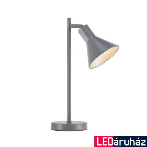 NORDLUX Eik asztali lámpa, szürke, E27, max 15W, 15cm átmérő, 46695010