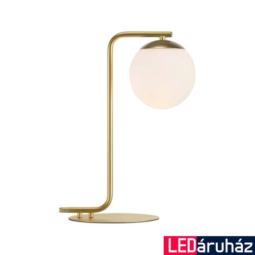 NORDLUX Grant asztali lámpa, réz, E14, max 40W, 14.5cm átmérő, 46635025