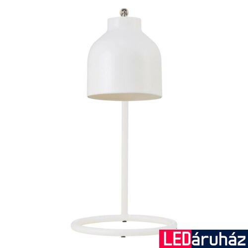 NORDLUX Julian asztali lámpa, fehér, E14, max 25W, 13cm átmérő, 48405001