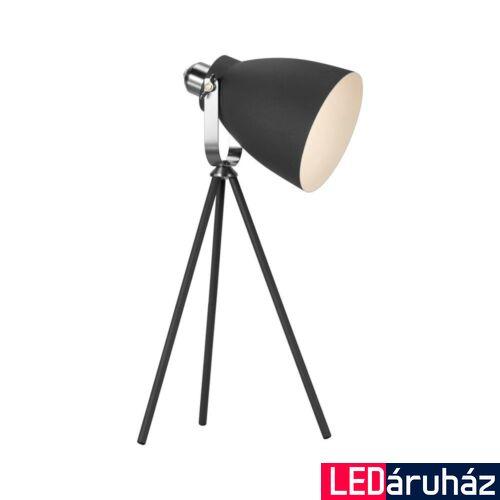 NORDLUX Largo asztali lámpa, fekete, E27, max 60W, 17cm átmérő, 46655003