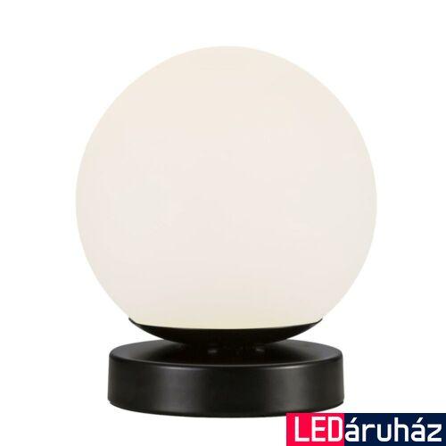 NORDLUX Lilly asztali lámpa, fekete, E14, max 40W, 13cm átmérő, 48885003