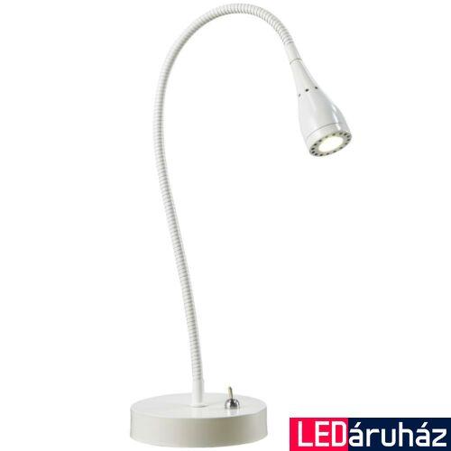NORDLUX Mento asztali lámpa, fehér, 3000K melegfehér, beépített LED, 3W , 130 lm, 3.5cm átmérő, 75525001