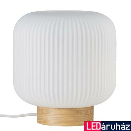 NORDLUX Milford asztali lámpa, barna, E27, max 40W, 20cm átmérő, 48915001