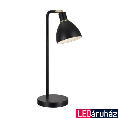 NORDLUX Ray asztali lámpa, fekete, E14, max 40W, 12cm átmérő, 63201003