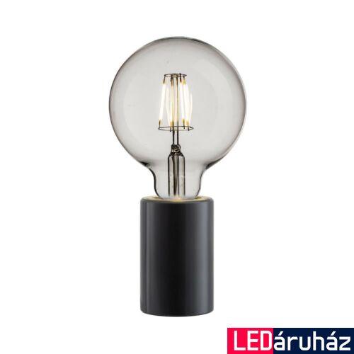 NORDLUX Siv asztali lámpa, fekete, E27, max 60W, 45875003