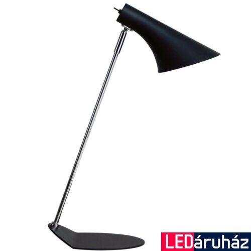 NORDLUX Vanila asztali lámpa, fekete, E14, max 40W, 14.5cm átmérő, 72695003