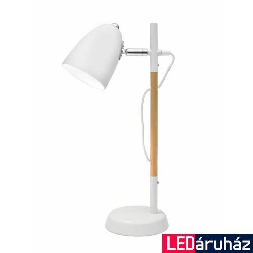 Nova Luce Alina asztali lámpa, 10 cm, fehér, Fényforrás nélkül, NLC-8808402