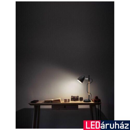 Nova Luce Alina asztali lámpa, 10 cm, fekete, Fényforrás nélkül, NLC-8808401