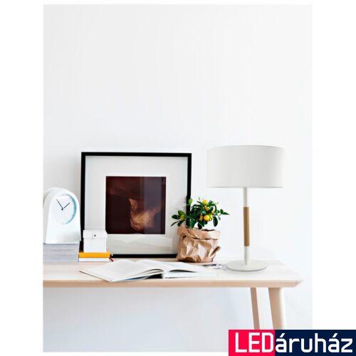 Nova Luce Arrigo asztali lámpa, 30 cm, fehér, Fényforrás nélkül, NLC-7605183