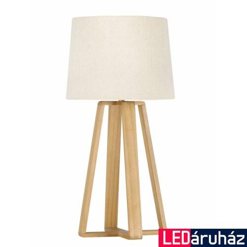 Nova Luce Derek asztali lámpa, 26 cm, bézs, Fényforrás nélkül, NLC-8700302