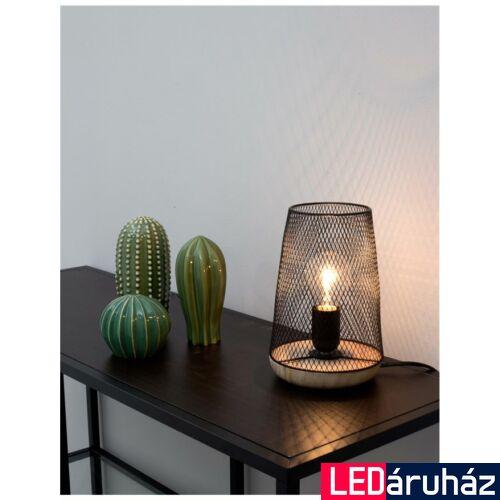 Nova Luce Marco asztali lámpa, 15 cm, fekete, Fényforrás nélkül, NLC-9014066
