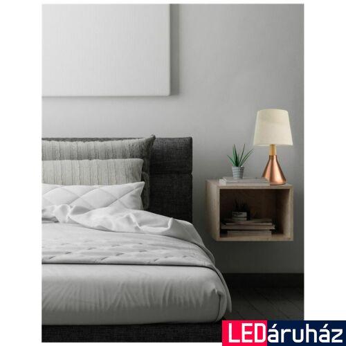 Nova Luce Montes asztali lámpa, 20 cm, réz, Fényforrás nélkül, NLC-7605167