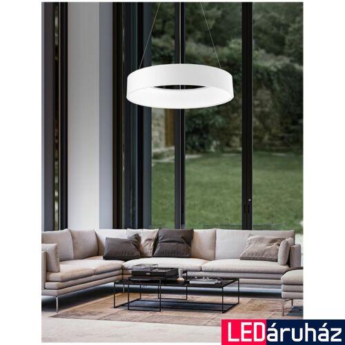 Nova Luce Rando LED függeszték, 60 cm, fehér, 4000K természetes fehér, NLC-6167203