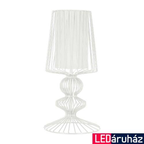 Nowodvorski AVEIRO asztali lámpa, fehér, E27 foglalattal, 1x28W, TL-5410