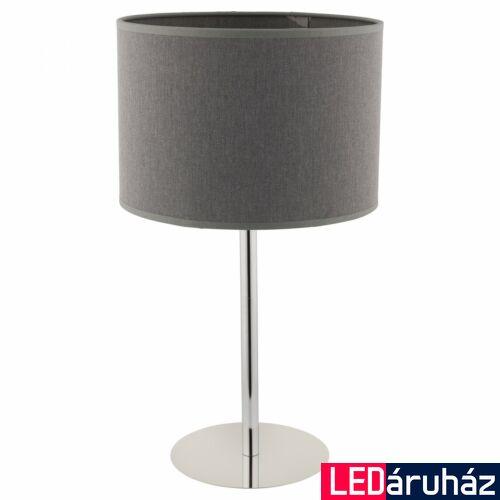 Nowodvorski HOTEL asztali lámpa, szürke, E27 foglalattal, 1x42W, TL-9301