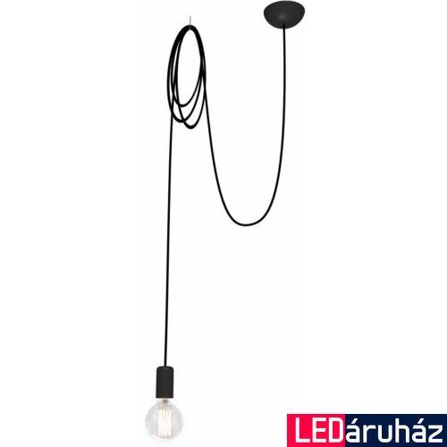 Nowodvorski SPIDER BLACK 1 ágú függeszték, fekete, E27 foglalattal, 1x42W, TL-6792