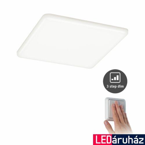 Paulmann 930.65 Veluna Varifit LED panel, négyzet, 3-step-dimming, üveg, 4000K természetes fehér, beépített LED, 1950 lm, IP44