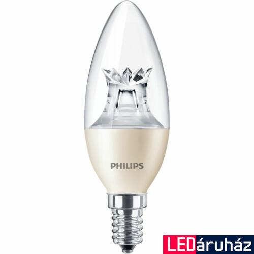 Philips MASTER 4W E14 LED gyertya, 250 lm, 2700-2200 K (Dimtone), fényerőszabályozható - 929001139802