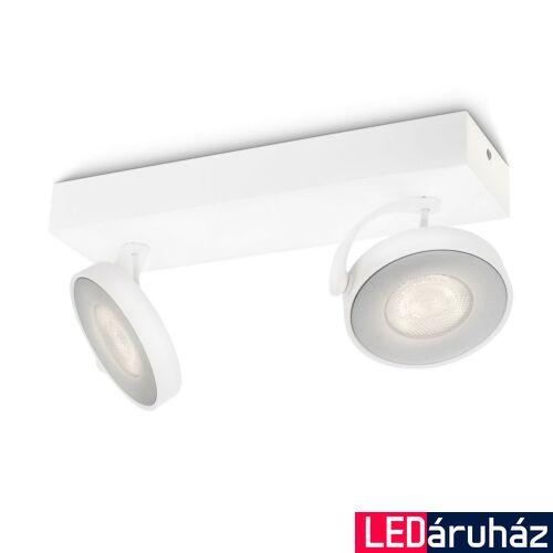 Philips Clockwork mennyezeti LED lámpa, fehér, 2x5W, 531723116
