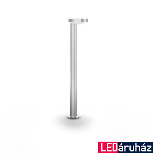 Philips Cockatoo rozsdamentes acél kültéri LED állólámpa, beépített LED, 1x8W, 79,5 cm magas, 1649347P0
