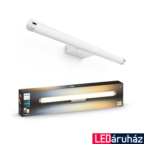 Philips Hue Adore LED tükörmegvilágító lámpa, 67,5cm, fehér, 20W, 1750lm, White Ambiance, 2200K-6500K+DimSwitch, Bluetooth+Zigbee, 3418231P6