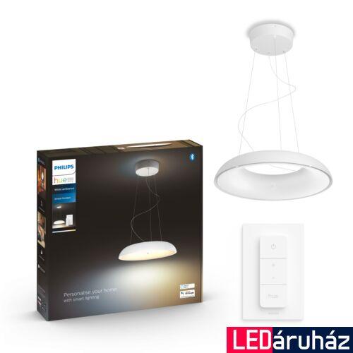 Philips Hue Amaze függesztett LED lámpa, White Ambiance, fehér, 33,5W, 3000 lm, 2200K-6500K + DimSwitch, Bluetooth+Zigbee, 4023331P6