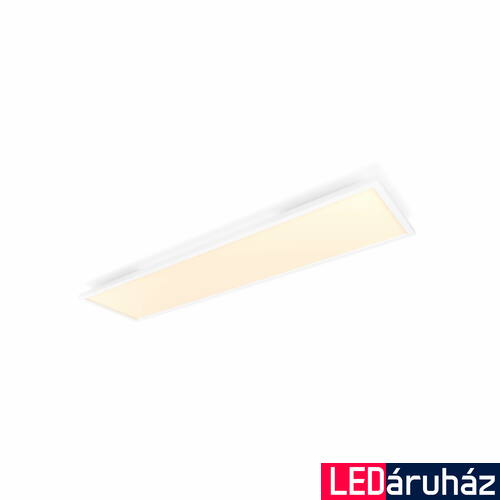 Philips Hue Aurelle 120x30cm LED panel, White Ambiance, fehér, 46,5W, 4200 lm, 2200-6500K, Bluetooth+Zigbee, 3216331P6