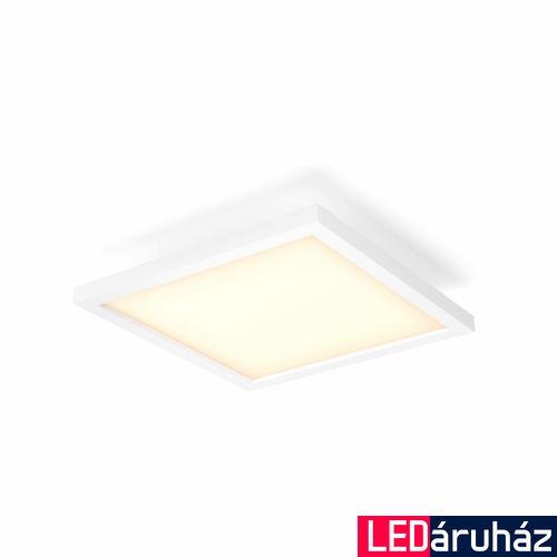 Philips Hue Aurelle 30x30cm LED panel, White Ambiance, fehér, 24,5W, 2200 lm, 2200-6500K, Bluetooth+Zigbee, 3216131P6