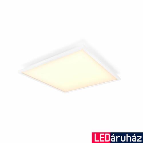 Philips Hue Aurelle 60x60cm LED panel, White Ambiance, fehér, 46,5W, 4200 lm, 2200-6500K, Bluetooth+Zigbee, 3216231P6