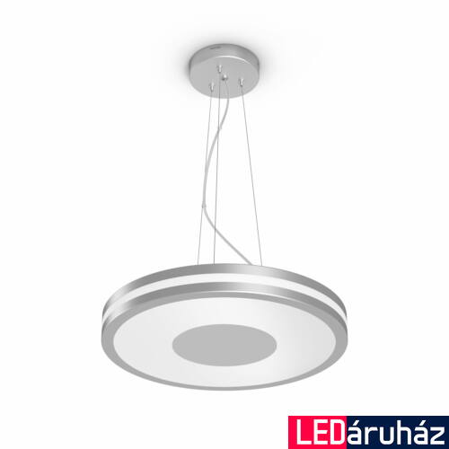 Philips Hue Being függesztett LED lámpa, White Ambiance, alumínium, 39W, 3000 lm, 2200K-6500K + DimSwitch, Bluetooth+Zigbee, 4098448P7