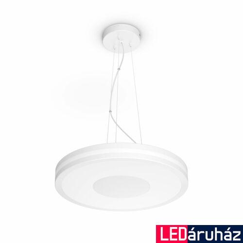 Philips Hue Being függesztett LED lámpa, White Ambiance, fehér, 39W, 3000 lm, 2200K-6500K + DimSwitch, Bluetooth+Zigbee, 4098431P7