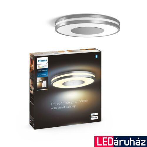 Philips Hue Being mennyezeti LED lámpa, White Ambiance, alumínium, 27W, 2400 lm, 2200K-6500K + DimSwitch, Bluetooth+Zigbee, 3261048P6