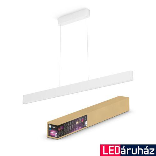 Philips Hue Ensis LED függeszték 2 irányú, RGBW, 2x39W, 6000 lm, 4090331P9, Bluetooth+Zigbee