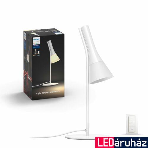 Philips Hue Explore asztali lámpa, fehér, 6W, 230V, IP20, 2200-6500K, +DimSwitch, 4300331P7