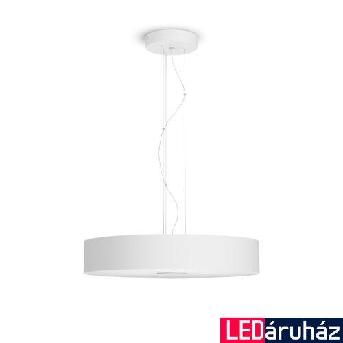 Philips Hue Fair LED függesztett lámpa, White Ambiance, fehér, 33,5W, 3000 lm, 2200K-6500K + DimSwitch, Bluetooth+Zigbee, 4033931P6