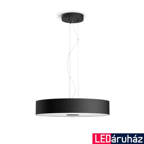 Philips Hue Fair LED függesztett lámpa, White Ambiance, fekete, 33,5W, 3000 lm, 2200K-6500K + DimSwitch, Bluetooth+Zigbee, 4033930P6