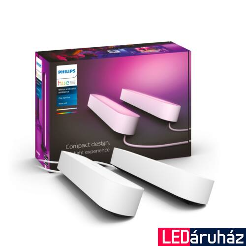 Philips Hue Play White and Color RGBW LED lámpatest, dupla csomag, fehér, 42W, 530 lm, 7820231P7