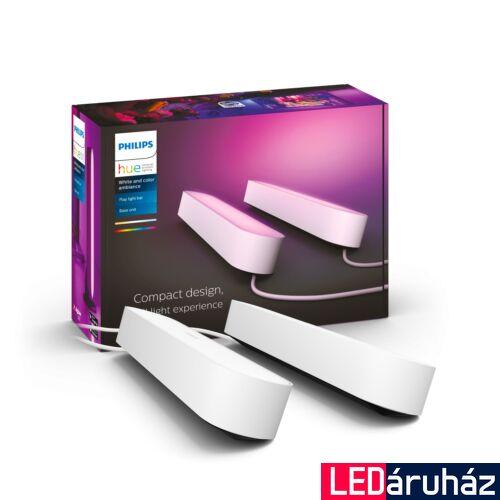Philips Hue Play White and Color RGBW LED lámpatest, dupla csomag, fehér, 42W, 530 lm, 7820231P7