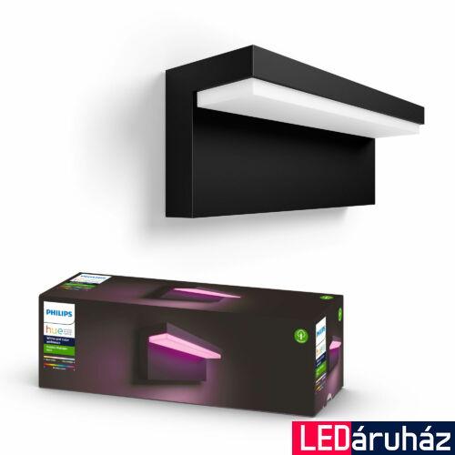 Philips Hue Nyro kültéri fali lámpa, White and Color Ambiance, RGBW, 13,5W, 1000lm, IP44, 8718696174302
