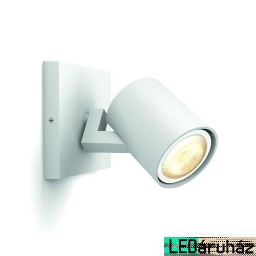 Philips Hue Runner fali fehér LED spot, White Ambiance, 2200K-6500K GU10, Bluetooth+Zigbee, 5309031P9