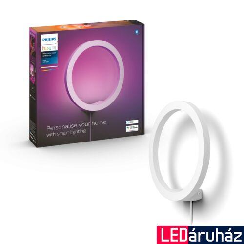 Philips Hue Sana fali LED lámpa, fehér, 20W, 24V, IP20, RGBW, 4090131P9, Bluetooth+Zigbee
