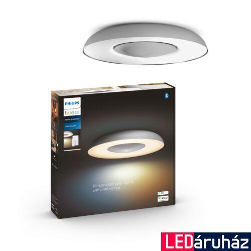 Philips Hue Still LED mennyezeti lámpa, White and Color Ambiance, alumínium, 27W, 2400 lm, 2200K-6500K + DimSwitch, Bluetooth+Zigbee, 3261348P6