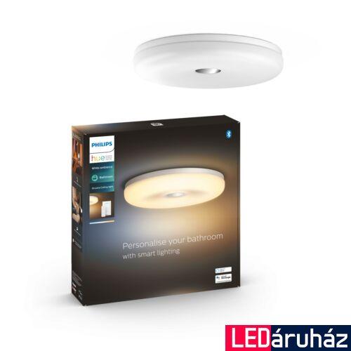 Philips Hue Struana mennyezeti lámpa, fehér, 27W, 2400 lm, White Ambiance, 2200-6500K, IP44, Bluetooth+Zigbee, 3418931P6