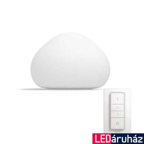 Philips Hue Wellner asztali LED lámpa, White Ambiance, 8,5W, 2200K-6500K + DimSwitch, Bluetooth+Zigbee, 4440156P6
