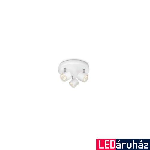 Philips Star mennyezeti LED lámpa, fehér, 3x4W, 562433116
