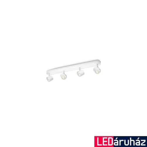 Philips Star mennyezeti LED lámpa, fehér, 4x4W, 562443116