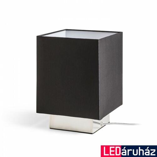 Rendl MONACO asztali lámpa, textil bura, fekete, E27 foglalattal, max. 28W, R12040