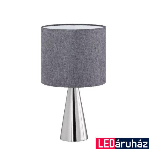TRIO COSINUS asztali lámpa, szürke, E14 foglalattal, TRIO-506500107