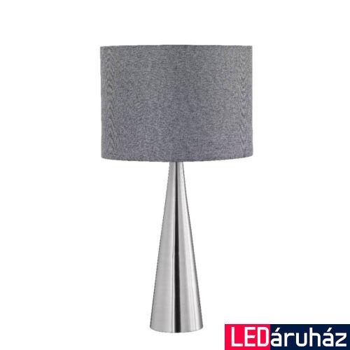 TRIO COSINUS asztali lámpa, szürke, E27 foglalattal, TRIO-556500107